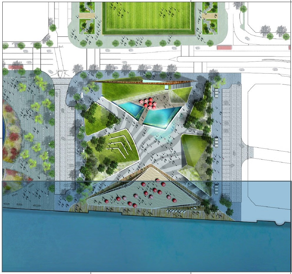 Waterfront Hub Plan