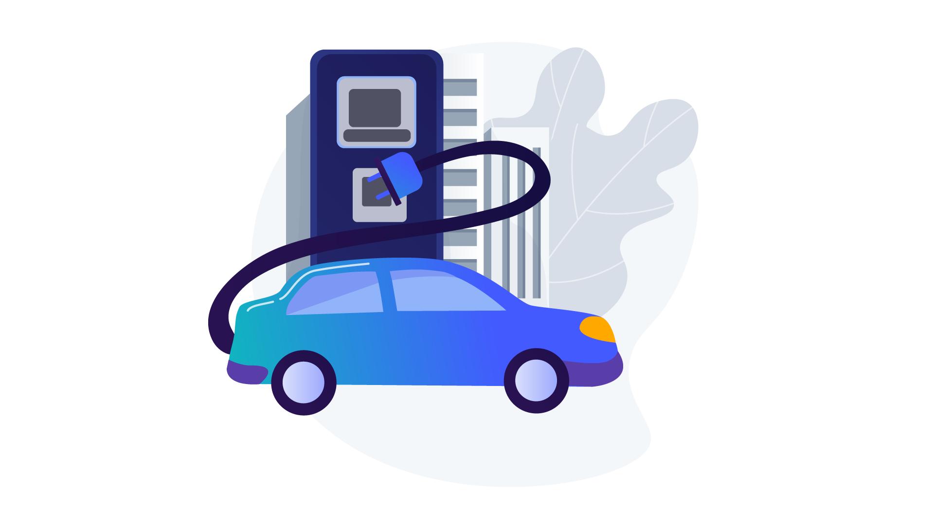 EV Charging artwork